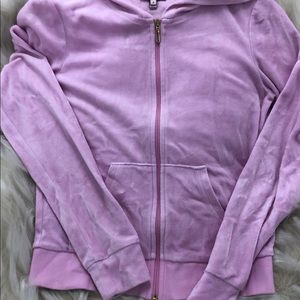 Juicy Couture zip up hoodie 💗